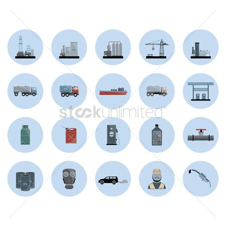 Fuel : Collection of oil and gas equipment