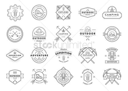 Mountains : Collection of outdoor expedition