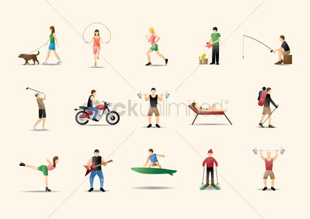 Athletes : Collection of people and activities