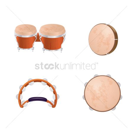 Percussions : Collection of percussion instruments