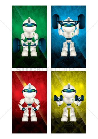 Screensaver : Collection of robot wallpaper for mobile phone