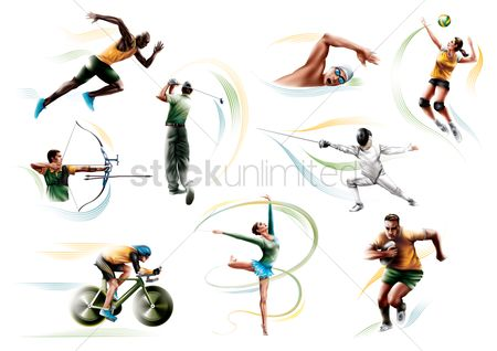 Athletes : Collection of sport activities