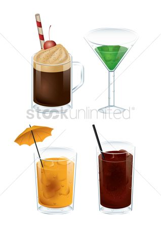 Fresh : Collection of sweet drinks