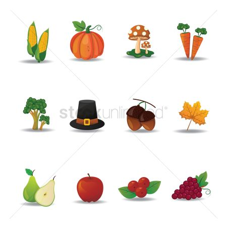 Grapes : Collection of thanksgiving icons