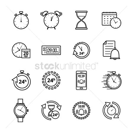 Minute : Collection of time icon