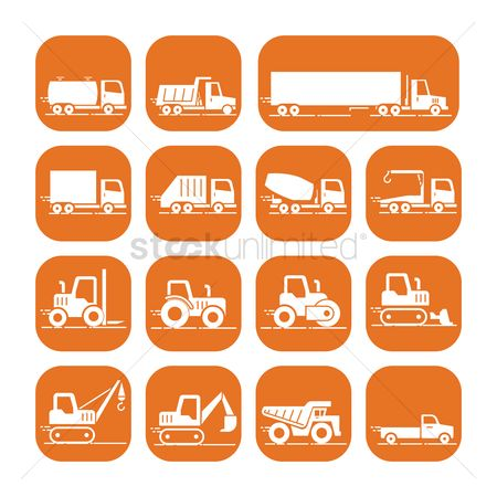 Machineries : Collection of trucks