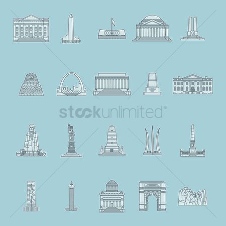 Indiana : Collection of usa monuments