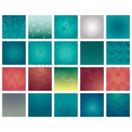 Geometrics : Collection of various backgrounds
