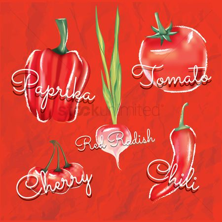 Cherry : Collection of vegetables