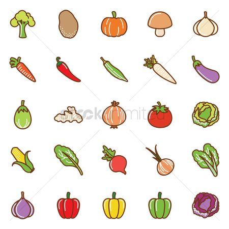 Fresh : Collection of vegetables