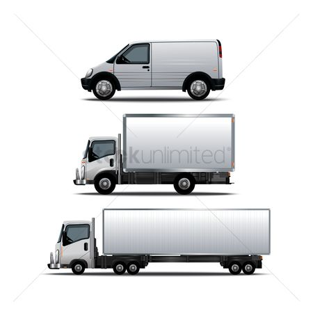 Lorries : Collection of vehicles