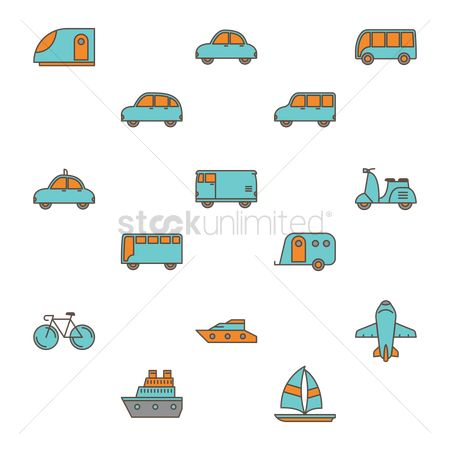 Taxis : Collection of vehicles