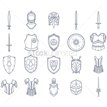 Circular : Collection of warrior accessories