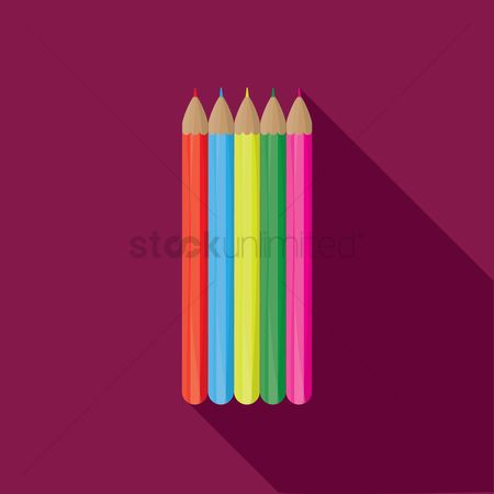 Tips : Colorful pencils
