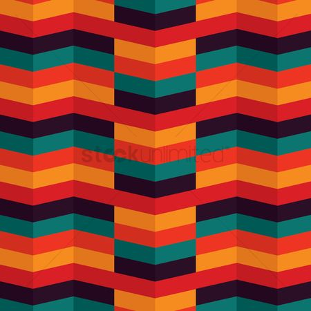 Zig zag : Colorful zig zag lines background