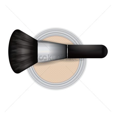 Cosmetic : Compact powder and blusher