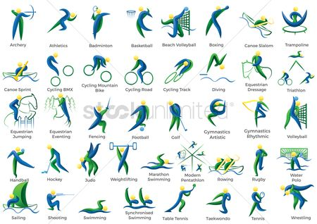 Athletes : Compilation of sports competition