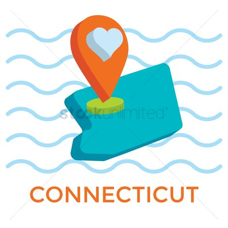 Connecticut : Connecticut map