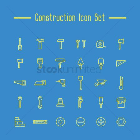 Brick : Construction icon set