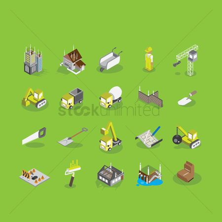 Constructions : Construction icons