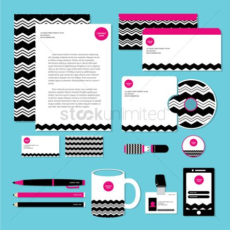 Tablet : Corporate identity designs