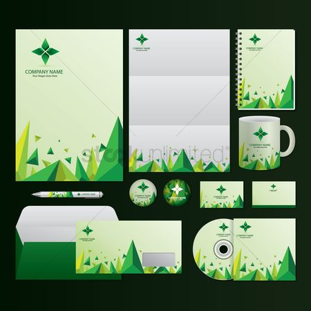 Geometrical : Corporate identity elements