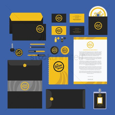 Office : Corporate identity elements