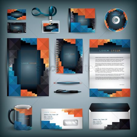 Coffee cups : Corporate identity