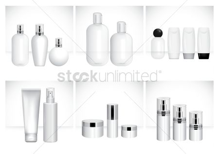 Cosmetic : Cosmetic container collection