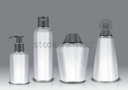 Products : Cosmetic container collection
