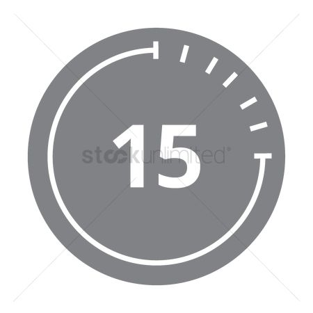 Minute : Countdown icon