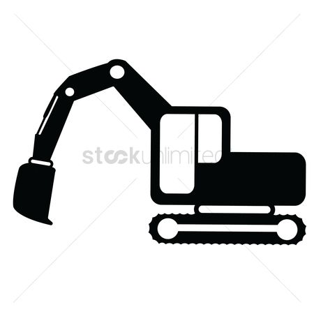 Machineries : Crawler digger