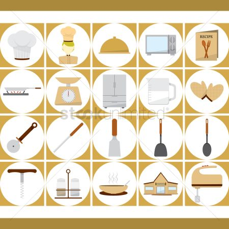 Soup : Culinary and kitchen utensils icons