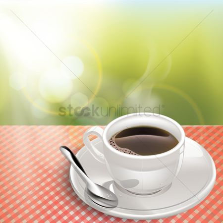 Drinking : Cup of coffee