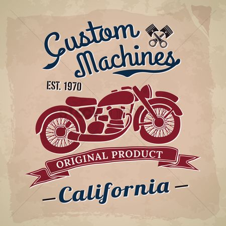 Old fashioned : Custom machines