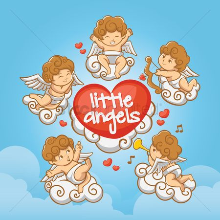 Trumpets : Cute little angels