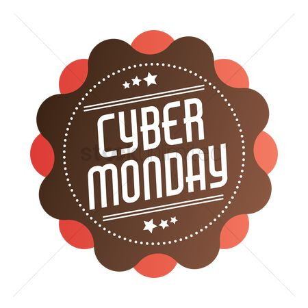 Terms : Cyber monday label
