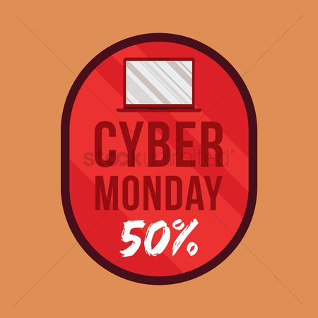 Terms : Cyber monday sale icon