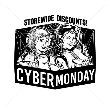 Terms : Cyber monday store wide discounts label