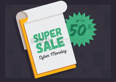 Monday : Cyber monday super sale wallpaper