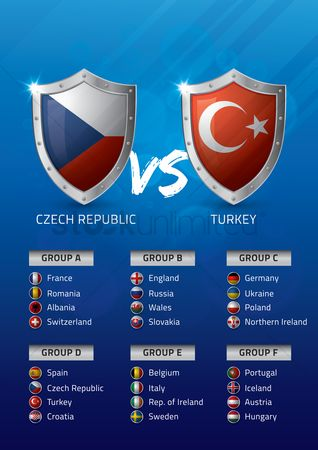 Ukraine : Czech republic vs turkey