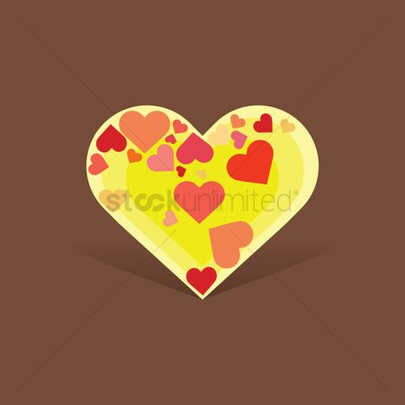 Heart : Decorative heart design