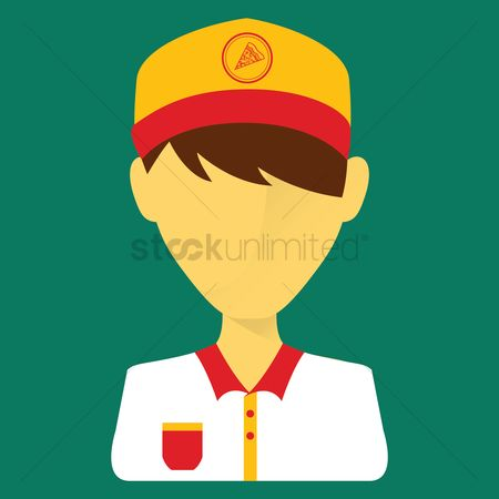 Pizza delivery : Delivery boy