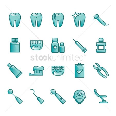 Surgeon : Dental icons