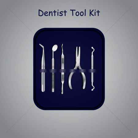 Dentist : Dentist tool kit