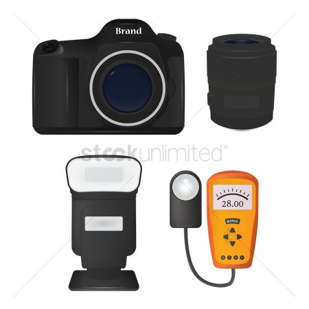 Lighting : Digital camera with flash