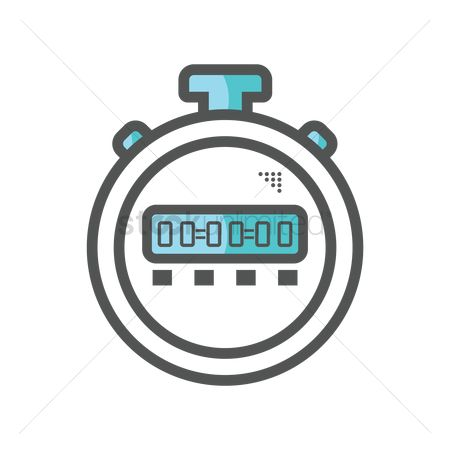 Minute : Digital stopwatch