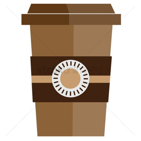 Huge : Disposable coffee cup