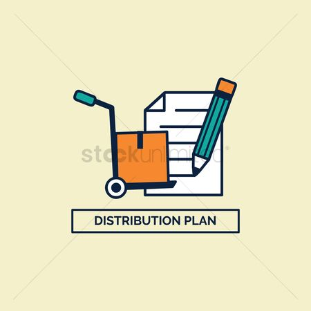 Hand truck : Distribution plan