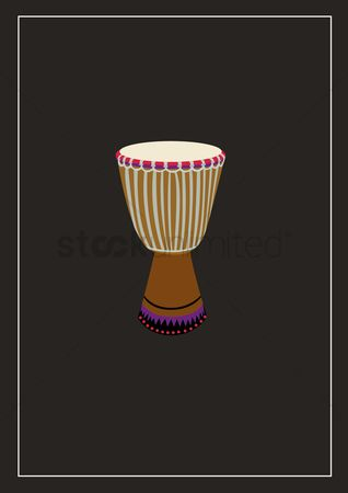Percussions : Djembe drums